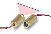 Adjustable focus red line laser module