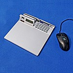 Mousepad Calculator with LCD clock