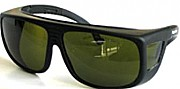 Safety eyewear for infrared and green laser