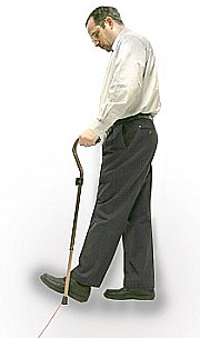 Laser Cane for Parkinson's disease