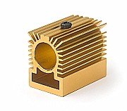 Mini heat sink for laser modules