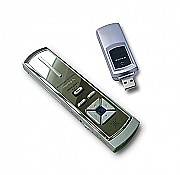 Wireless Remote Presenter with USB flash drive and laser Pointer