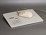Mouse pad calculator